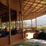 bamboo bar: seating