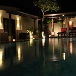 Pool side - by nite