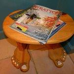 A foot stool