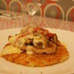 Pork Pepino with Rosti