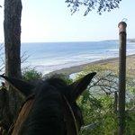 Looking toward Playa Guiones