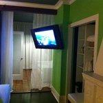 Big flat screen tv