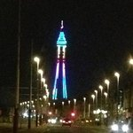 view of Blackpool tower Feb 2013