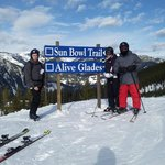 """Stopping for a photo near the """"Alive Glades"""""""