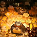 "Awesome cheese selection. They EVEN have Wallace & Grommit's ""Old Stinking Bis"