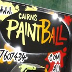 The paintball trailer