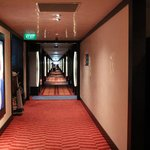 walkway towards the room