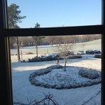 esterno con spruzzata di neve!