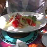 Bokkom salad