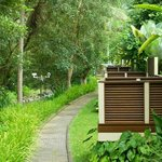 Agung villas balconies, no privacy and lack of security ...