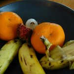 Inedible fruits from a 5 stars hotel?