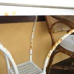 Habitación 206 - balcón - Mesa oxidada