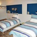 Chambre 2 lits suite Les Champs
