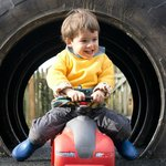 Ride-on Toys and Tractor Tyre Tunnel