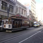 Cable Cars just around the corner