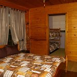 Bushbaby Self-catering Tree Cabin - Bed Room
