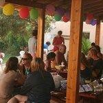 Party auf der Terrasse