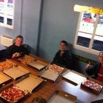 "12"" stonebaked pizzas!"