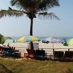 Пляж одного из отелей
