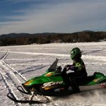 Riding Rangeley Lake