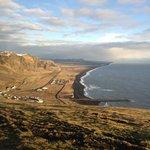 Vik's volcanic beach