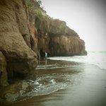 cave on beach