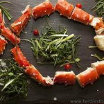 Barents Sea King Crab w/ Samphire & Creamed Oyster Sauce