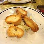 baccalà mantecato con crostini