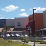The mall is located close to the hotel