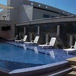 Pool area. Great sun exposure.