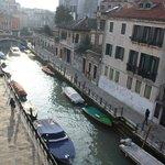 La vista sul canale