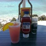 the pool-beach bar