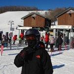 base camp e escola de ski crianças