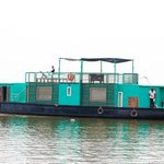 Green house boat