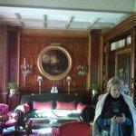 Un salon à la villa Joséphine.