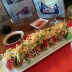 The ultimate tuna lovers roll