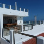 Roof top bar and plunge pool