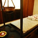 Ayurvedic massage room
