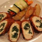Chicken rouladen
