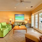 Spacious Waterfront Living Rooms