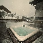 Hot Tub in winter - Christol