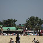 Baga beach  near titos