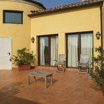 private room patio/terrace/balcony