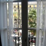 view from room to the Placa