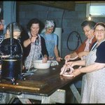 This was the very first sausage making class!!