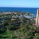 Au'lani, view from our 14th floor 1 -bedroom villa