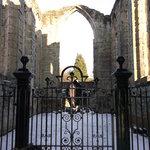 Ashby de la Castle ruins.