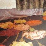 Carpet in bedroom.