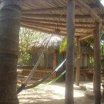 Relaxing hamac zone