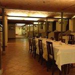 ristorante ricavato da una stalla